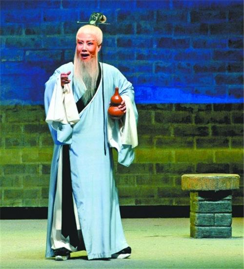 谢涛《不要低估年轻人对传统戏曲的热爱》金曲《傅山进京》首次进入武汉