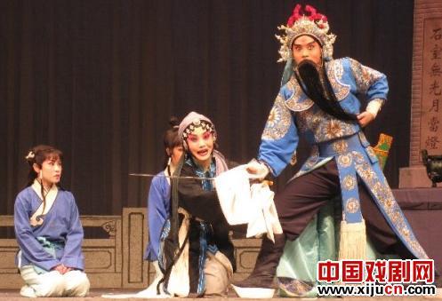 天津评剧团看《秦香莲》和《李三娘》