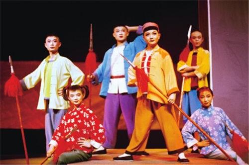 甘肃京剧团创作大型现代儿童京剧《集贸新》