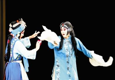 天津京剧院仍在上演经典的《甘付昆寿景》