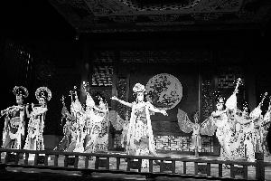 """""""晋城第一歌剧院""""开幕式表演"""