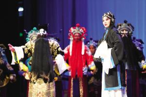 天津评剧剧院杰出青年演员表演经典评剧《秦香莲》