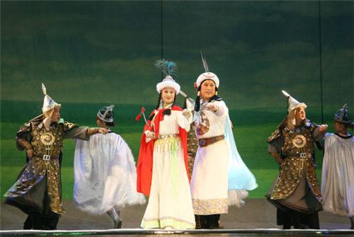 大型蒙古历史剧《满都海》在保利登陆