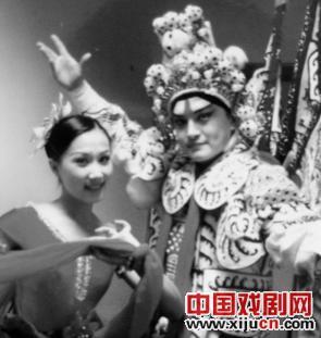 苏健的京剧表演在英国很受欢迎