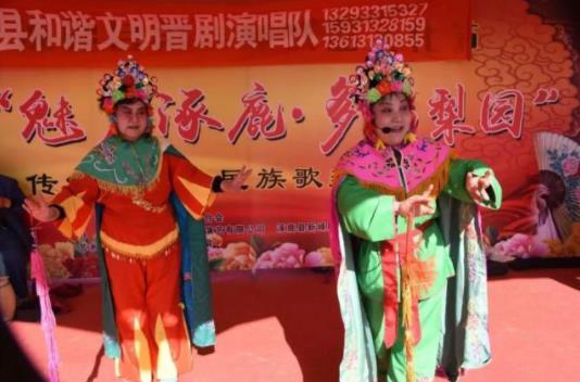 涿鹿县志愿者协会金菊俱乐部亮相东环公园