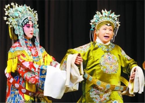 """康静在第一届""""迷人春天""""青年京剧演员挑战赛中赢得了""""遇见颜色"""""""
