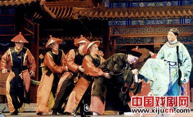 新年京剧《刘罗国总理》于29日在国家大剧院上演。