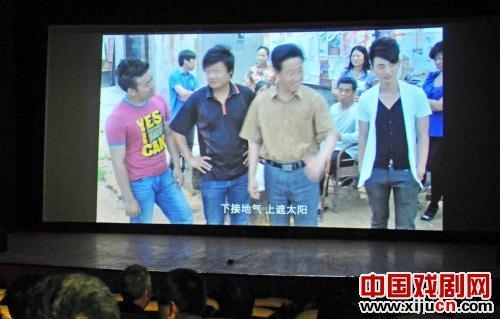 评剧电影《三进大门》真实记录了滦南市征地拆迁的感人事迹。
