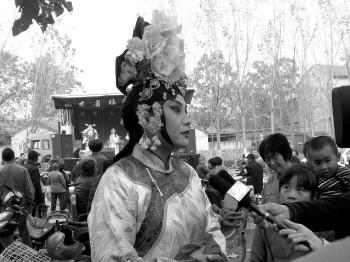 """临清京剧团主办的聊城邮政""""文化惠民下乡""""活动圆满结束"""