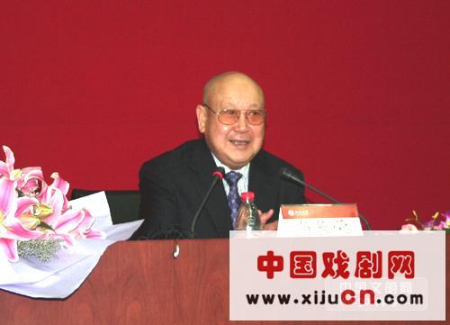 著名京剧演员尚常戎会见北京大学学生