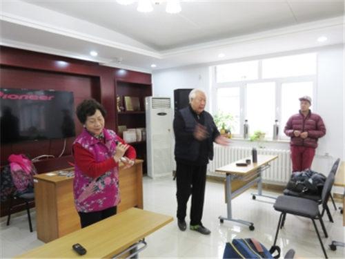 桑玉歌唱晚,北京拜访名师