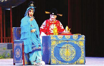 天津青年京剧团表演张丕的经典望江阁
