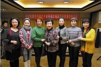 孙毓敏60年的舞台生活移植改编成巡回演出
