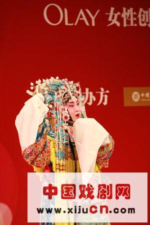 北京师范大学赵蔡萌表演-京剧(照片)