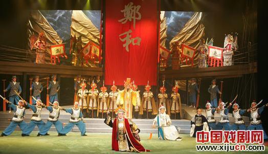 大型交响京剧《郑和下西洋》将在上海与观众见面。