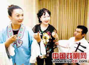 天津京剧院首次排练荀彧的名剧《于今怒》