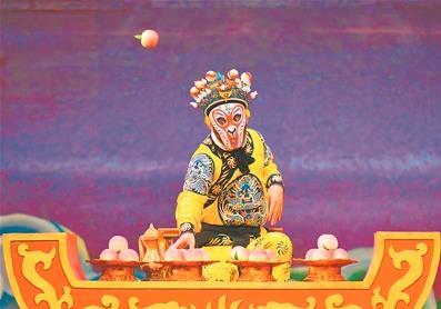 京剧《大闹天宫》再现了古典武术