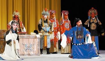 天津青年京剧团改期演出传统京剧《法门寺拾玉镯》