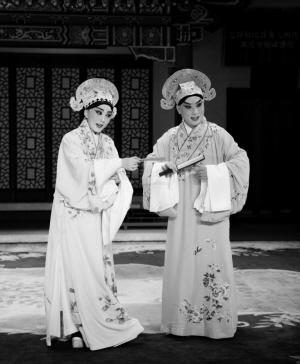 杜近芳弟子丁晓君和叶少兰弟子金喜全重新发现了京剧《刘音》