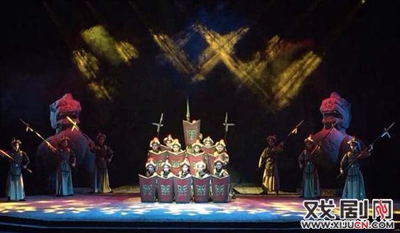 一部新的历史京剧《如姬》在南京紫金大剧院上演
