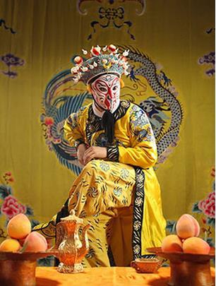 詹吴磊的表演是献给京剧《打造天宫》