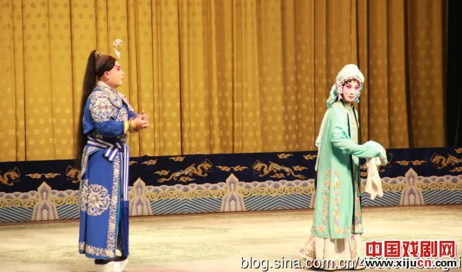 陕西惠民表演《铁原弓》