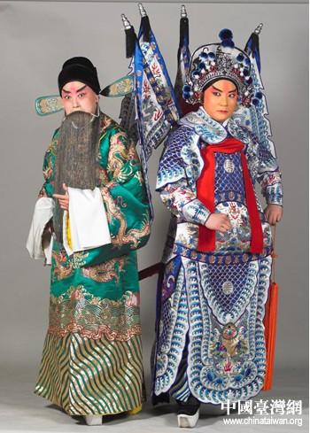 台北新剧团在京剧艺术节上演了三国剧《渭南之战》。
