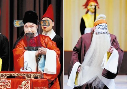 天津航院著名话剧《杨家将》在著名的《一抓二》中引起观众的轰动