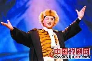 上海京剧剧院在八月上演了《智取虎山》。