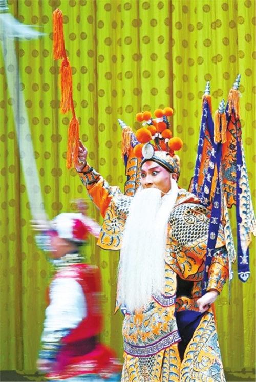 京剧《定军山阳平关》在郑州上演