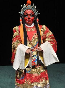 7月14日,长安大剧院上演了京剧《法门寺》。