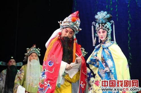 陕西京剧剧院新剧《铜牛》为第七届中国京剧艺术节做准备