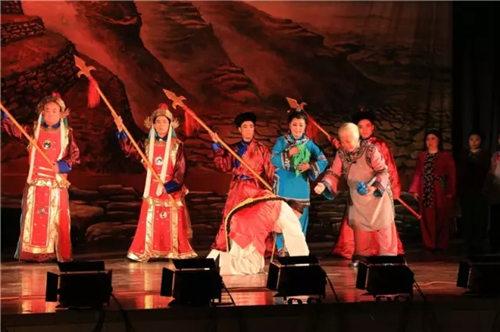 新晋戏剧《直隶总督于成龙》在孟村演出精彩