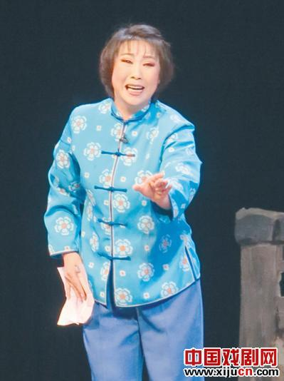沈阳评剧剧院创作的现代鞠萍戏剧《乐清》今晚上演。