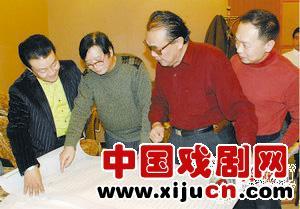 书法和绘画以京剧大师而闻名