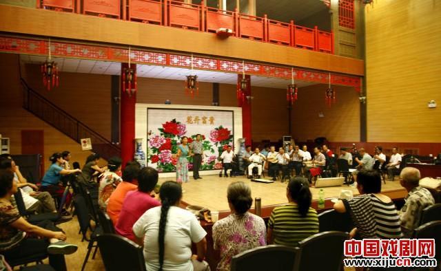 怀柔力达信戏剧活动中心粉丝与大兴评剧集团友谊活动