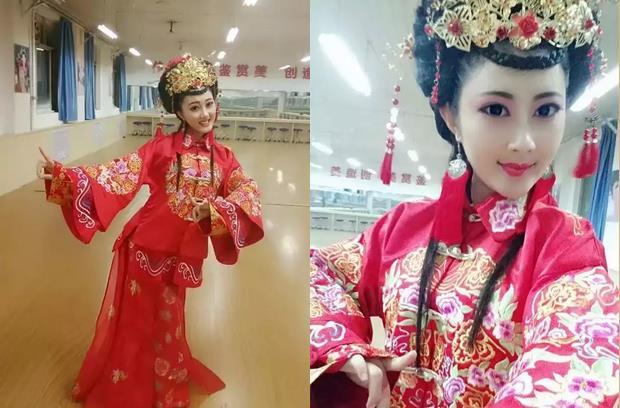晋剧小华丹-700美女演员王华冠