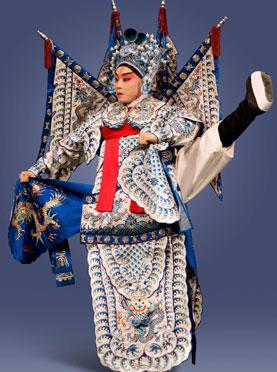 4月17日,长安大剧院上演了京剧《秦英征西》