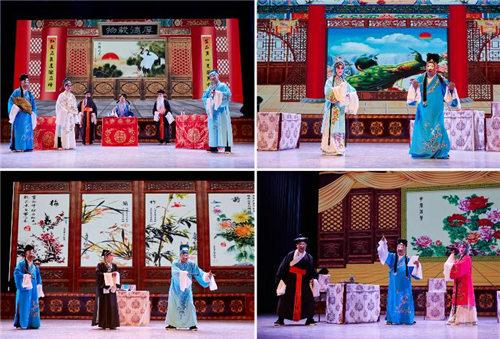 连云港市第三届戏剧节上演大型京剧《诗文集》