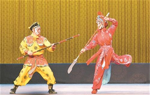 上海京剧剧院上演经典京剧《泗州城》和《汾河湾》