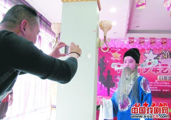 """第九届""""明星火炬""""中国青年艺术人才评选活动戏剧类只有一名选手"""