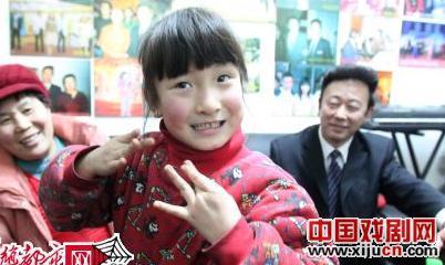 6岁的平剧演员:宋雨桐