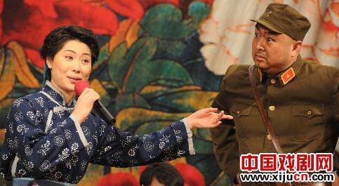 国家北京剧院在河北省平山县演出