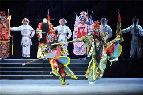 新的大型舞台剧《关公》将于1月14日上演。