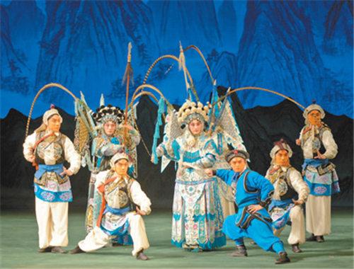 京剧《杨门女将军》在俄罗斯赢得了广泛赞誉