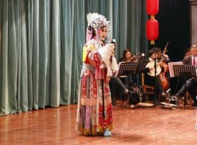 石家庄传统文化教育协会明星京剧团首次举办公益演出