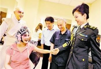 曾昭娟带领《朱文基》的重新创作出现在中国人民解放军老干部俱乐部的《星光闪耀大舞台》中。
