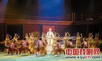 大型交响京剧《郑和下西洋》在香港演出