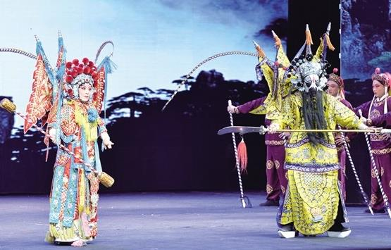 晋中市金歌剧艺术研究所演出《王琦·拉马尔》