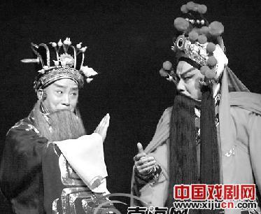 陈少云京剧七拍戏《成败小合》征服观众